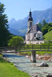 Chiesa in Baviera, Germania Fotografie Stock