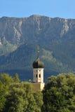 Chiesa in Baviera superiore Fotografia Stock Libera da Diritti