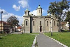 Chiesa Belgrado di ascensione fotografie stock