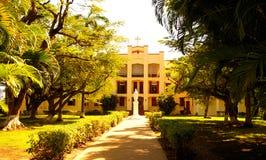 Chiesa a Belize Fotografia Stock Libera da Diritti