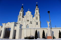 Chiesa bianca Fotografia Stock Libera da Diritti