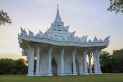 Chiesa bianca tailandese Fotografia Stock