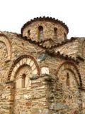 Chiesa bizantino del Panagia in Fodele Fotografia Stock
