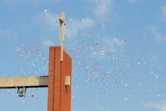 Chiesa, Bloemfontein, Sudafrica fotografia stock libera da diritti