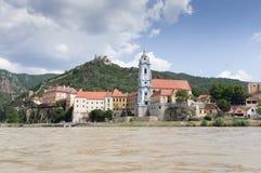 Chiesa blu Krems Fotografia Stock Libera da Diritti