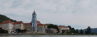 Chiesa blu Krems Immagine Stock
