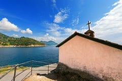 Chiesa Bonassola - in Liguria - in Italia Immagini Stock