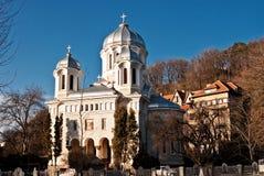Chiesa in Brasov Fotografia Stock Libera da Diritti