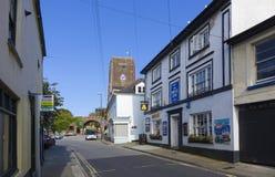 Chiesa Brixham superiore Devon England Regno Unito Fotografia Stock