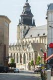Chiesa a Bruxelles Fotografia Stock