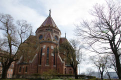 Chiesa a Budapest fotografia stock