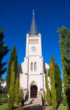 Chiesa in Calvinia, Sudafrica Immagini Stock