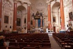 Chiesa Carmelitana, La Valletta, Malta Fotografia Stock Libera da Diritti