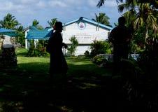 Chiesa cattolica Alofi, Niue del ` s di Saint Joseph Immagine Stock