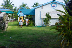 Chiesa cattolica Alofi, Niue del ` s di Saint Joseph Fotografie Stock Libere da Diritti