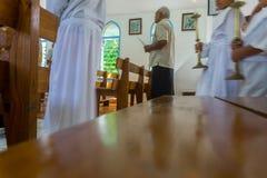 Chiesa cattolica Alofi, Niue del ` s di Saint Joseph Fotografia Stock