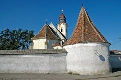 Chiesa cattolica armena in Gheorgheni, Romania Immagini Stock Libere da Diritti