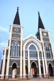 Chiesa cattolica, chantaburi, Tailandia immagine stock