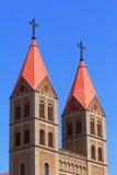 Chiesa cattolica in Cina immagine stock libera da diritti