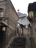 Chiesa cattolica in Cina Fotografia Stock