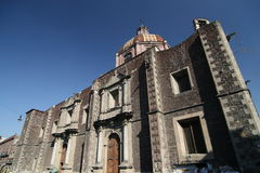 Chiesa cattolica in Cuba Immagini Stock Libere da Diritti