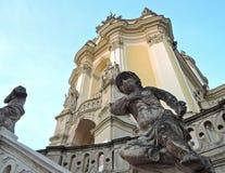 Chiesa cattolica della cattedrale Fotografia Stock Libera da Diritti