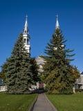 Chiesa cattolica di Montreal Immagini Stock