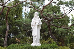 Chiesa cattolica di Yakhyeon Immagini Stock