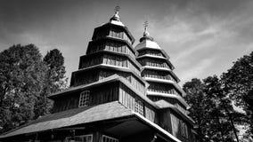 Chiesa cattolica greca in Matkow fotografia stock