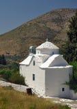 Chiesa cattolica greca nell'isola di Samos, Grecia Fotografia Stock Libera da Diritti