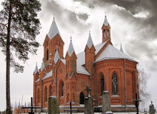 Chiesa cattolica romana Immagine Stock