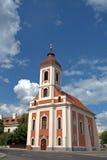 Chiesa cattolica romana, Balatonalmadi, Ungheria Fotografie Stock Libere da Diritti