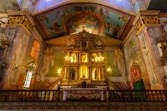 Chiesa cattolica romana di Baclayon Fotografia Stock