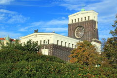 Chiesa cattolica romana a Praga Immagini Stock Libere da Diritti