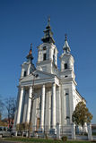 Chiesa cattolica romana, Sivac, Serbia Immagini Stock Libere da Diritti