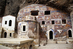 Chiesa in caverna Immagini Stock Libere da Diritti