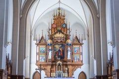Chiesa in Chortkiv Fotografia Stock