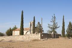 Chiesa in Cipro Fotografia Stock Libera da Diritti