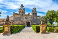 Chiesa collegiale degli zares del ¡ di Santa MarÃa de los Reales Alcà Fotografia Stock Libera da Diritti