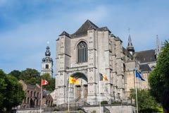 Chiesa collegiale di Sainte-Waudru a Mons Immagine Stock Libera da Diritti