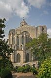 Chiesa collegiale di Sant Feliu a Girona Fotografia Stock Libera da Diritti