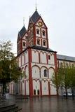 Chiesa collegiale di St Bartholomew, Liegi, Belgio immagini stock libere da diritti