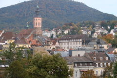Chiesa collegiale di Stiftskirche immagini stock libere da diritti