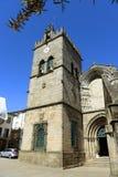 Chiesa collegiale, Guimarães, Portogallo immagini stock libere da diritti