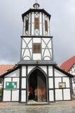 Chiesa in Colonia Tovar immagine stock libera da diritti