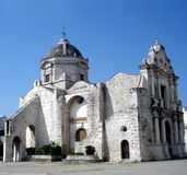 Chiesa coloniale Immagini Stock Libere da Diritti