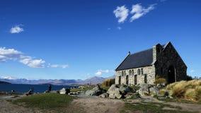 Chiesa con una vista Immagine Stock