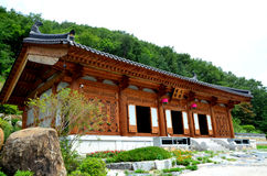 Chiesa coreana fotografie stock libere da diritti