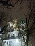 Chiesa a Cracovia immagine stock libera da diritti