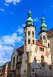 Chiesa Cracovia del Paul e del Peter santo Fotografia Stock